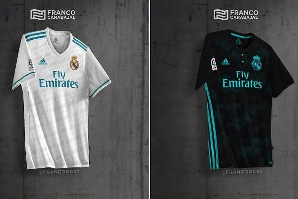 Filtran las dos posibles nuevas camiseta del Real Madrid para la temporada 2017-2018 - EcoDiario.es