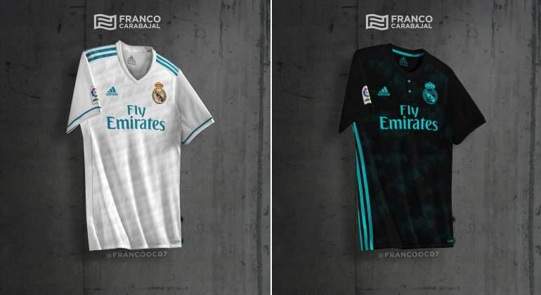 14050432661db Filtran las dos posibles nuevas camiseta del Real Madrid para la temporada  2017-2018