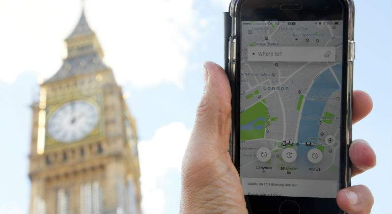 Londres Uber pierde batalla legal