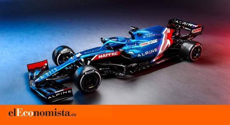 Alpine A521: el coche con el que Fernando Alonso volverá a la Fórmula 1