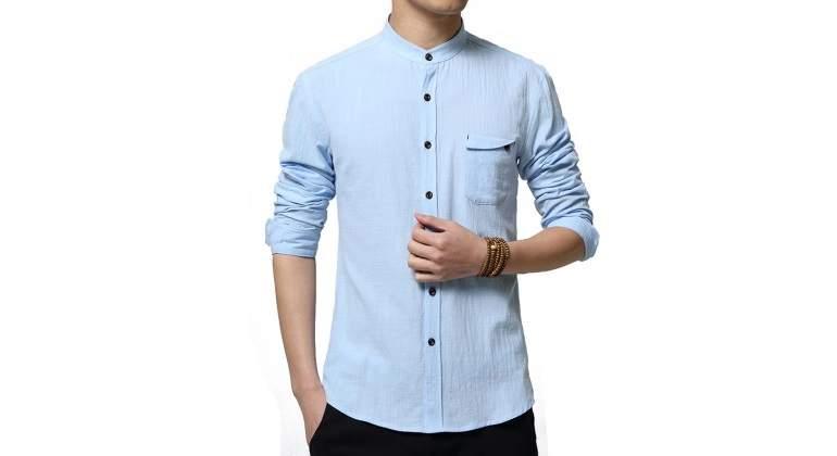 venta de descuento último estilo de 2019 nuevo estilo Tenemos que hablar de la camisa de vestir sin cuello ...
