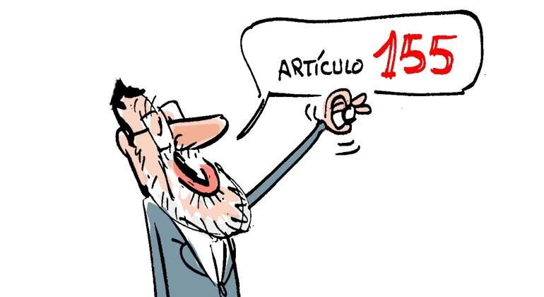 Primero de Octubre Rajoy-articulo155-napi