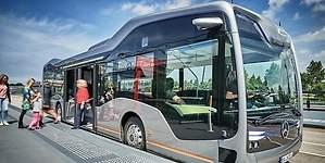 El primer autobús urbano autónomo ya está circulando