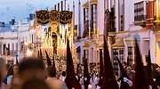 Un paso de Semana Santa en Marchena Sevilla