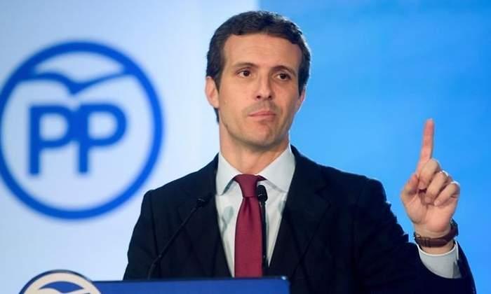 Casado cree que Sánchez busca la impunidad de los independentistas con la reforma constitucional