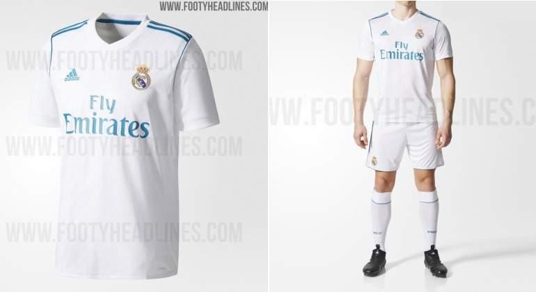 Salen a la luz las primeras fotos de la camiseta del Real Madrid ... 3a1d1a805b014