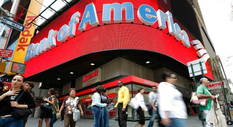 Beneficio récord de 7.300 millones en Bank of America