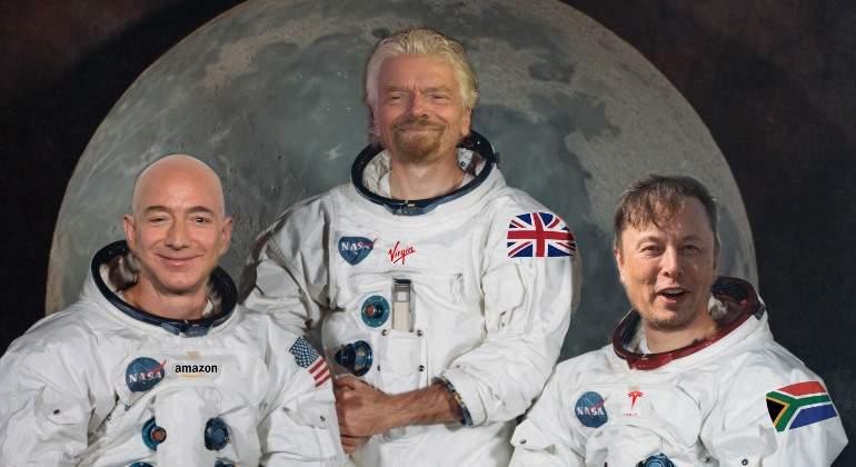 Bezos, Branson y Musk, los turistas más contaminantes del planeta -  elEconomista.es