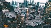 Vertipuertos y taxis voladores: así imagina Airbus la ciudad del futuro