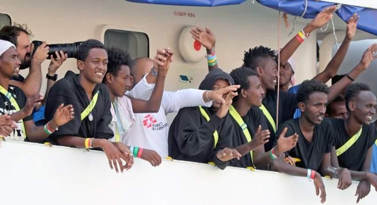 Rescatan a 524 migrantes en Andalucía el día que atraca en Malta el Aquarius