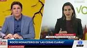 Saltan las chispas entre Jesús Cintora y Rocío Monasterio en TVE: ¿No es democracia?
