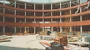 Obras de los edificios de Ifema en Campo de las Naciones