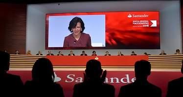 Los empleados de Santander pueden acogerse al ERE desde este miércoles