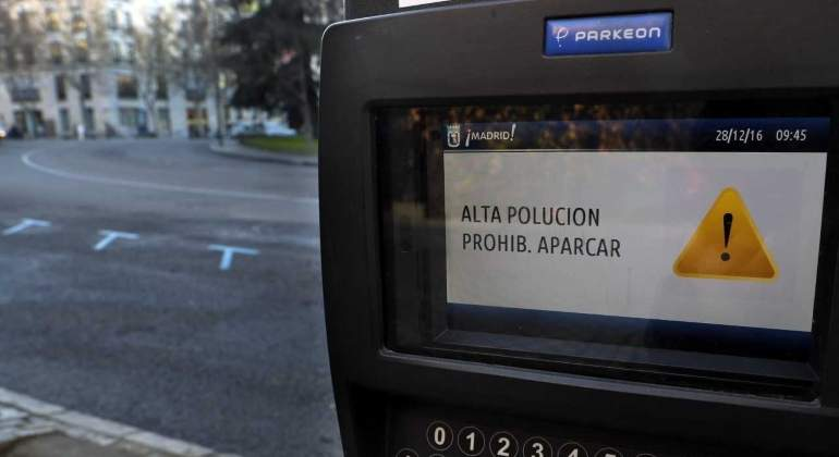 multas estacionamiento regulado madrid