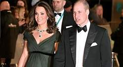Kate Middleton luce escotazo en los Bafta