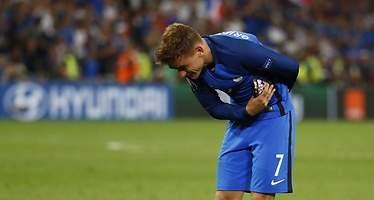 Antoine Griezmann, nombrado mejor jugador de la Eurocopa 2016