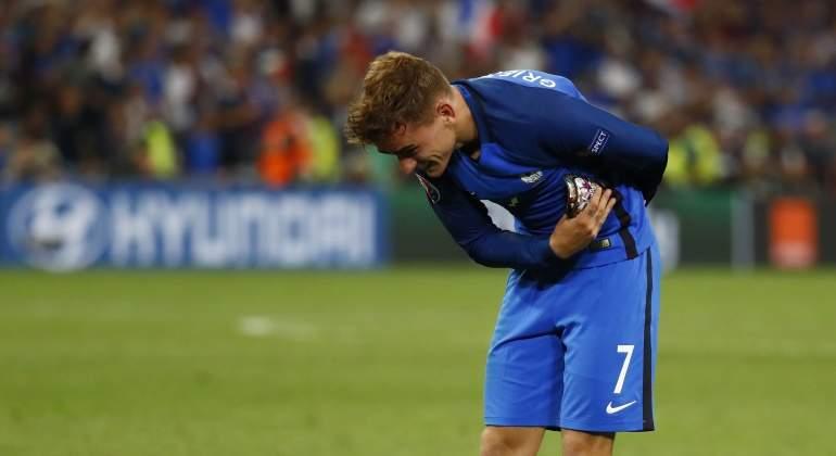 Antoine Griezmann, nombrado mejor jugador de la Eurocopa