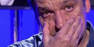 Gustavo González rompe a llorar en Sálvame tras su divorcio