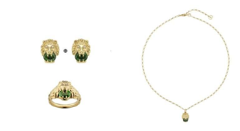 Elaborado en oro amarillo o blanco de 18K, los nuevos anillos, pulseras o pendientes están engastados con diamantes y presentan gemas de colores vibrantes.