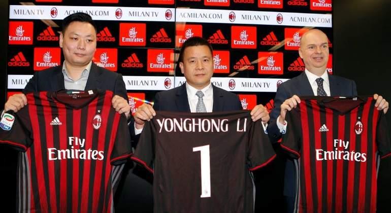 ¿Bitcoins para reflotar al Milan  El intento fallido de Yonghong Li para  evitar su K.O. f166a937aebc3