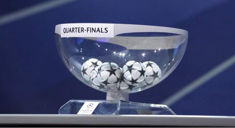 En directo sorteo de cuartos de final de la champions for Sorteo champions cuartos 2017
