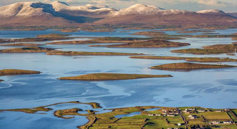 Clew Bay.