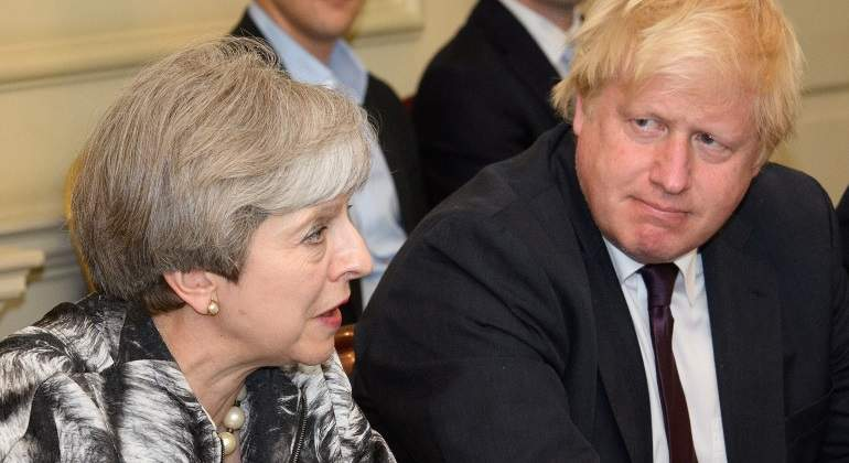 Por qué Boris Johnson rentabiliza el plan fallido de Theresa May para el Brexit