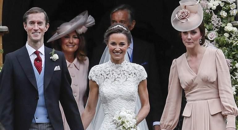 Vestido de novia de kate middleton disenador