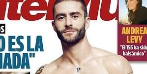 El estilista de Cámbiame Pelayo Díaz, desnudo en la portada de Interviú