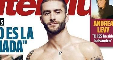 Pelayo Díaz se desnuda en Interviú