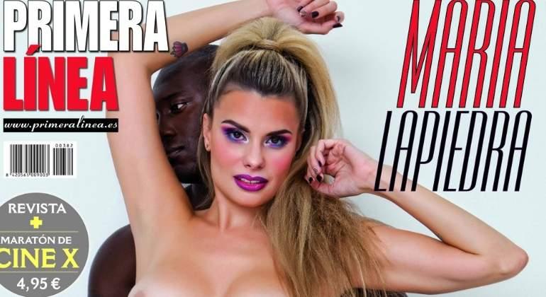 El Espectacular Desnudo De María Lapiedra En Portada De Primera