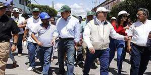 Corren a gritos a Graco Ramírez y a Osorio Chong de Zacatepec
