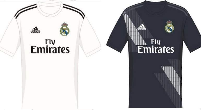 Filtran las camisetas del Real Madrid para la próxima temporada ... d6a080d664102