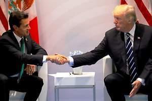 Trump se pelea con Peña Nieto