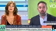 Choque entre Ana Rosa y Santiago Abascal: el tema en el que nunca están de acuerdo
