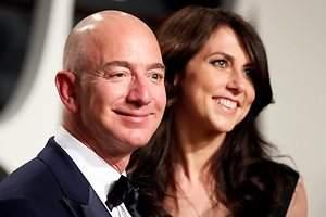 La historia amorosa de los Bezos