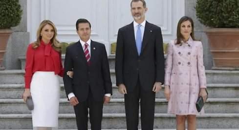 Letizia y la primera dama de México: duelo de estilo
