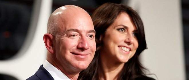 Jeff y Mackenzie Bezos, la historia amorosa de los dueños de Amazon