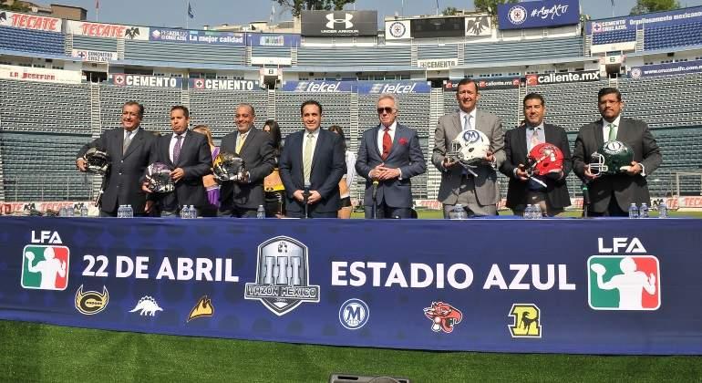 LFA presenta la Temporada 2018 en Estadio Azul