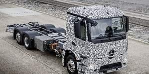 Ni Tesla ni Nikola: el primer camión eléctrico, Mercedes