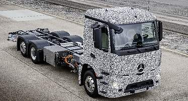 Ni Tesla ni Nikola: Mercedes Urban eTruck será el primer camión 100% eléctrico