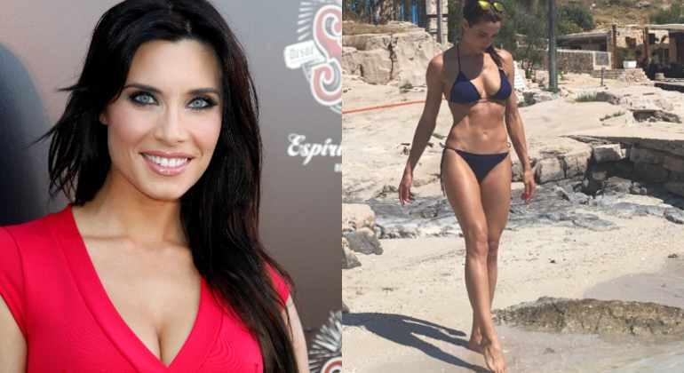 Rubio Posando Bikini Pilar Presume Cuerpo De En vY6mb7gIfy
