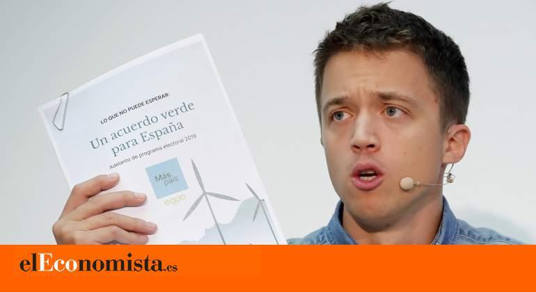 """Programa electoral de Más País: Errejón apuesta por una semana laboral de cuatro días y por acabar con """"los privilegios fiscales de"""