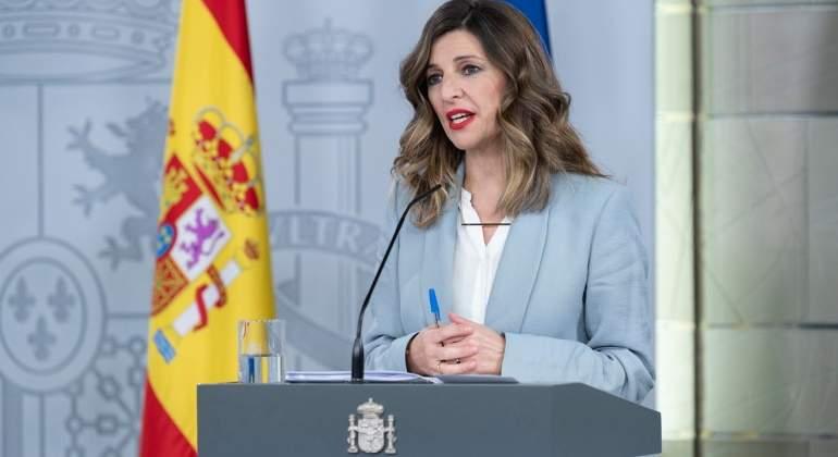 Yolanda Díaz, Ministra de Trabajo de España