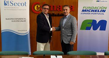 SECOT y Fundación Michelin colaborarán para ofrecer apoyo técnico y económico a emprendedores y pymes