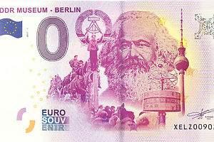 Marx tendrá un billete de 0 euros