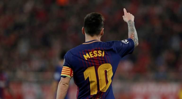 Messi vuelve a ampliar distancias como líder del Pichichi de LaLiga  Iago  Aspas se mete entre sus perseguidores a5547adcd03