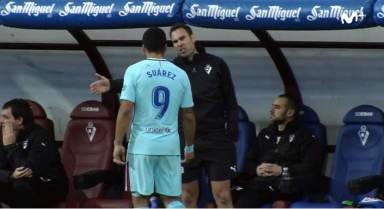 Suárez y su pique con el banquillo del Eibar