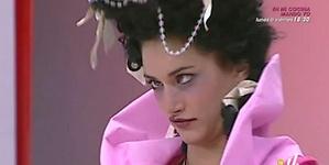 Alba Carrillo llegó como teatrera a Supermodelo