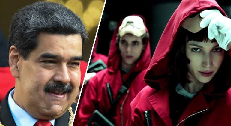 """Nicolás Maduro recomienda ver 'La casa de papel': """"Me gustaría conocer a los actores, son como familia"""""""